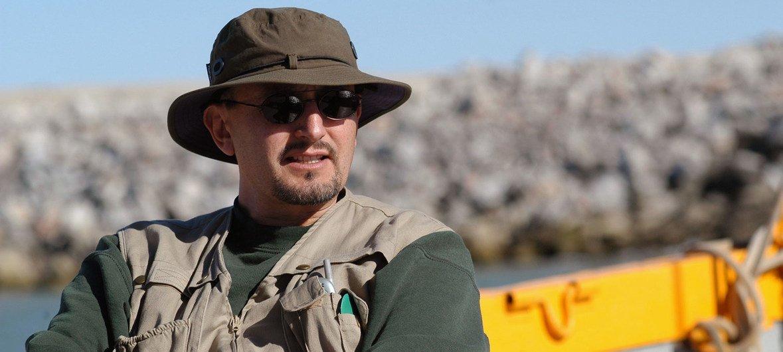 El doctor Lorenzo Rojas Bracho es el presidente del Comité Internacional para la Recuperación de la Vaquita.