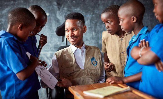New Sustainable Development Goals Advocate, Edward Ndopu, Founder, Global Strategies on Inclusive Education, Republic of South Africa.