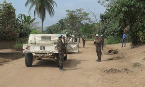 The UN peacekeeping mission the the Democratic Republic of the Congo (MONUSCO) supports peace efforts in Lodja in the central region of the country.
