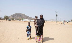 Fati Yahaya is 24 years old and comes from the village of Koghum in the north-east of Nigeria. She is now living in Minawao refugee camp in Cameroon. (4 February 2019)