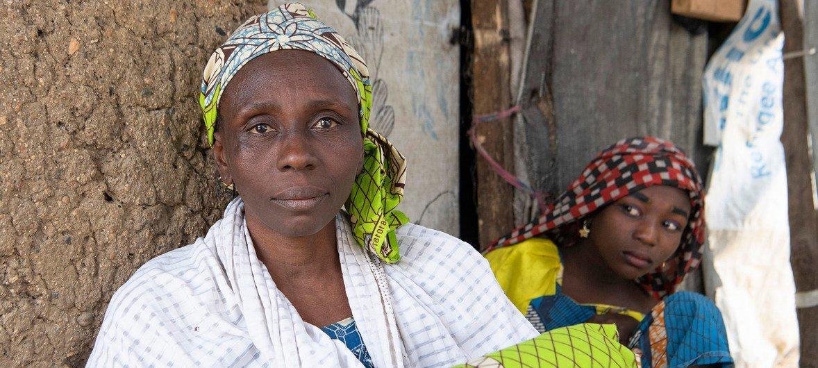 Hawa Abdu, une Nigériane enlevée par Boko Haram en 2014.