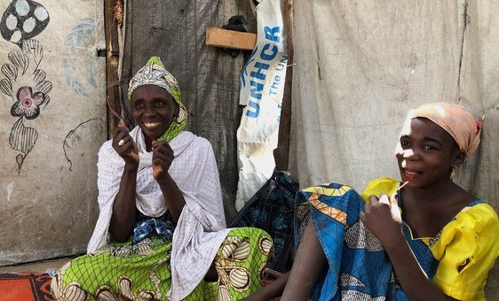 The terrorist group, Boko Haram, abducted Hawa Abdu and her children in Nigeria in 2014.