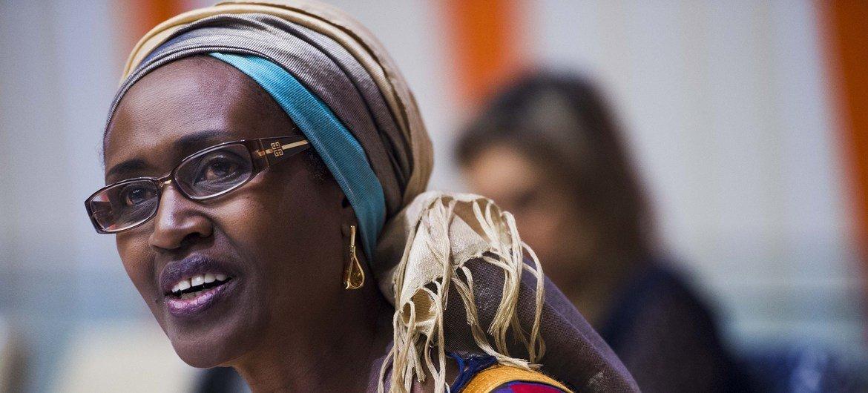 Winnie Byanyima ambaye ni mkurugenzi mtendaji mpya wa UNAIDS
