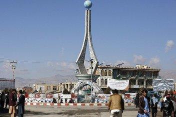 Gardez city, Paktia province, Afghanistan.