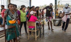 Food distribution in Venezuela.