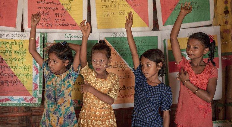 Deux ans après l'exode, les Rohingyas ont besoin d'une éducation de qualité pour garantir leur avenir (UNICEF)