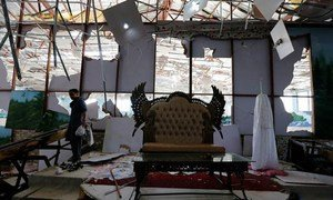Когда прогремел взрыв, в свадебном зале находилось около тысячи человек.