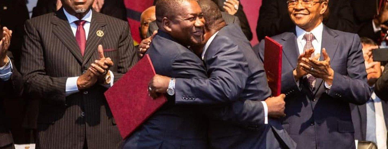 Acordo de Paz e Reconciliação foi assinado em Maputo pelo chefe de Estado de Moçambique, Filipe Nyusi, e pelo líder do partido Renamo, Ossufo Momade.