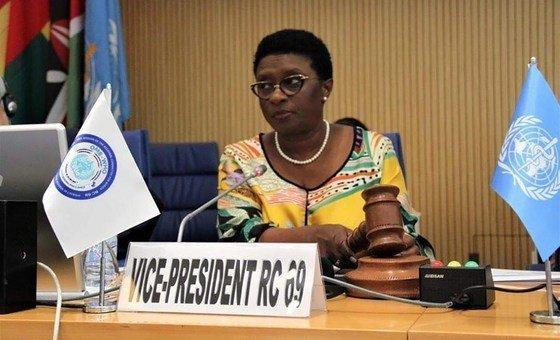 Alta comissária da Guiné-Bissau para a Covid-19, Magda Robalo.