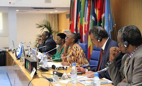 69ª sessão do Comité Regional Africano da Organização Mundial de Saúde, OMS, em Brazzavile na República do Congo.