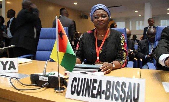 Ministra da Saúde da Guiné-Bissau, Magda Robalo.