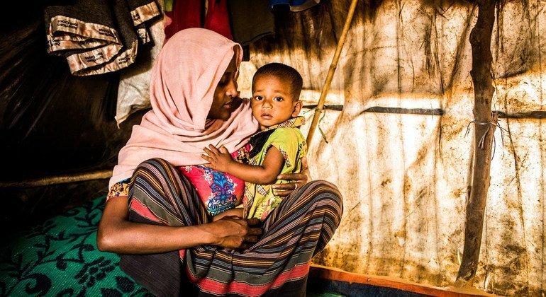 En mars 2018, Setera, 19 ans, a fui le village d'Hormara, dans le Bochidong, au Myanmar, après avoir après avoir « vu des militaires lancer des bombes et violer des femmes ».