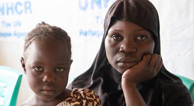 Fati Yahaya huyó a Camerún después de escaparse de los insurgentes armados en Nigeria.