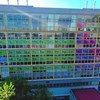 Le bâtiment principal de la faculté de chimie de l'Université nationale autonome du Mexique (UNAM) à Mexico