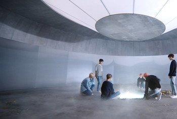 Le groupe sud-coréen de K-Pop, BTS.