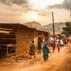 Morning in the streets of Melen, a slum area in the middle of Cameroon's capital Yaoundé.