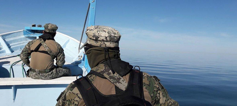 La Armada de México está instalada en el Alto Golfo de California para evitar la pesca de totoaba y proteger a la vaquita.