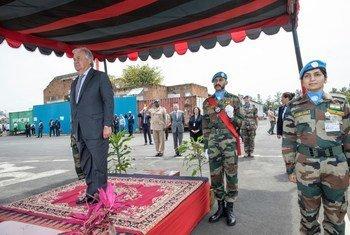 Генеральный секретарь ООН прибыл сегодня в Демократическую Республику Конго с трехдневным визитом.