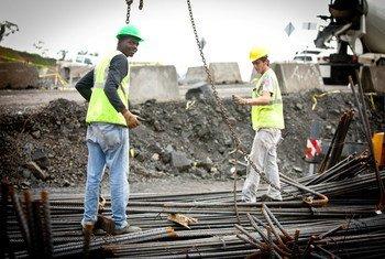 Obras para la expansión del Canal de Panamá.