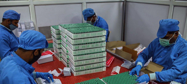 2000 millones de dosis de vacunas de COVAX serán entregadas en 2021.