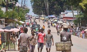 Cidade costeira de Palmafoi palco deconfrontosrecentes de terroristas comasforças de segurança