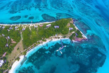 The future of Small Island Developing States like Saint Vincent and the Grenadines in the Caribbean is very closely linked to the ocean.