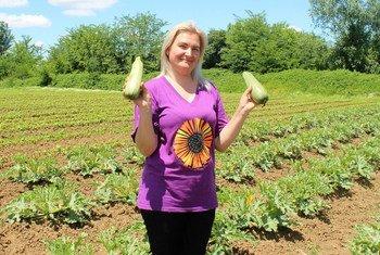 FAO Food Hero Irina Vasilyeva.