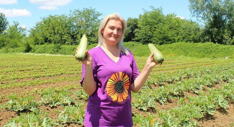 Фермер из Грузии Ирина Васильева