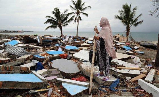 Изменение климата приводит к учащению и усилению стихийных бедствий.