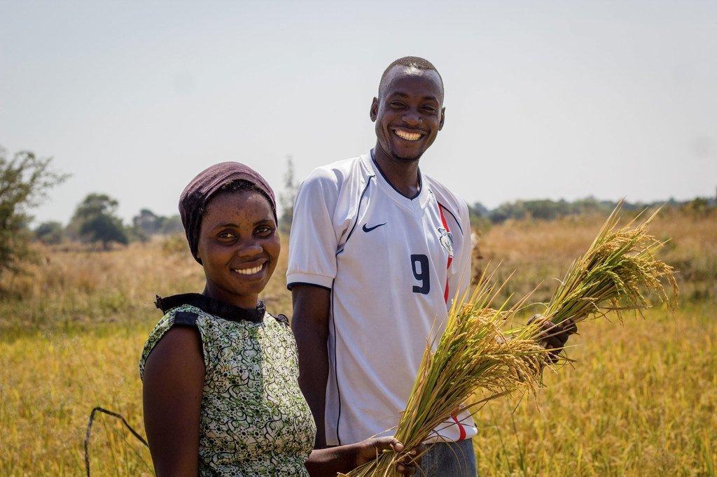 坦桑尼亚村庄的讲习班将当地农民聚集在一起,讨论包容性农业和可持续性。