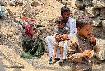 مديرية المغربة في محافظة حجة باليمن هي واحدة من 11 مديرية في البلاد تعاني من ظروف شبيهة بالمجاعة.