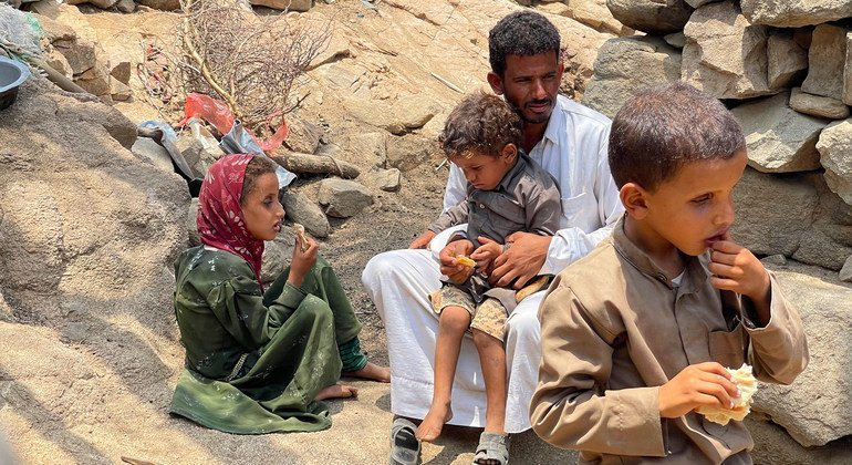 Maghrabah district in Hajjah governorate in Yemen is one of 11 districts in the country with famine-like conditions.