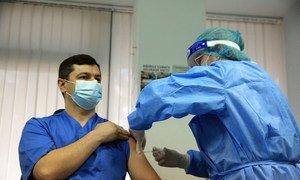La Moldavie a été le premier pays européen à recevoir des vaccins contre la Coivid-19 via le mécanisme COVAX.