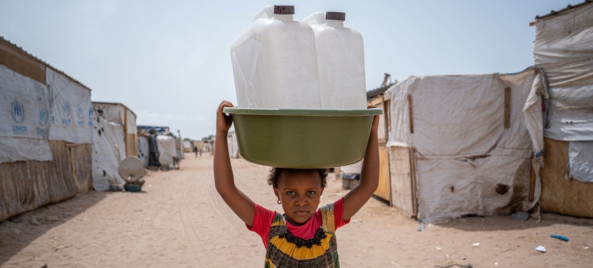 One in three people around the world has been exposed to major water stress according to the WMO.
