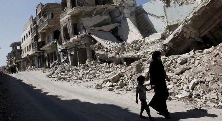 В ООН уверены, что необходимо собрать информацию о всех погибших за десять лет войны в Сирии.
