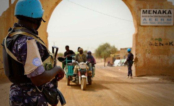 UN Police Patrol Menaka Region successful  northeastern Mali.