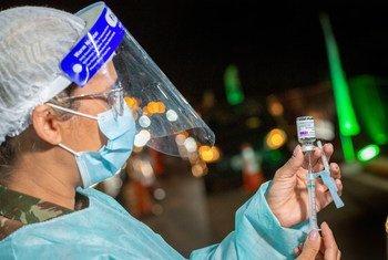 لا تزال العديد من البلدان، كالبرازيل، تأمل في الوصول إلى أعداد كبيرة من الأشخاص الذين لم يتلقوا اللقاح.