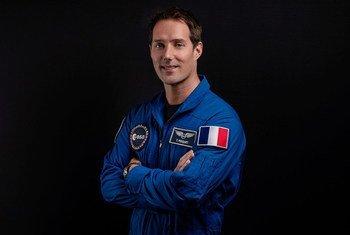 El astronauta francés Thomas Pesquet.