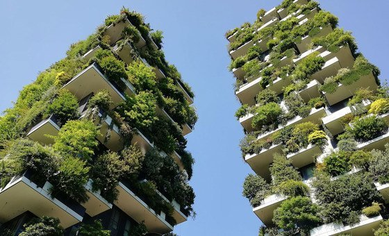 Здания в Милане, Италия