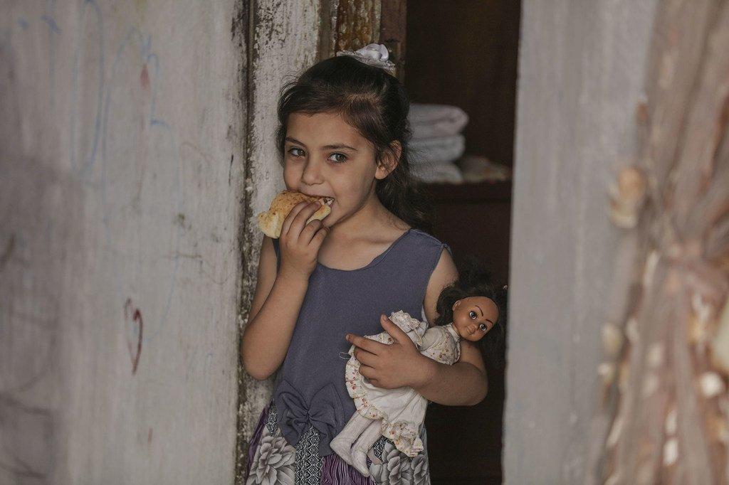 WFP imesambaza chakula kwa jamii masikini Gaza kwa kutumia vocha za kielektroniki kw aajili ya kupata bidhaa muhimu.(Picha ya Maktaba)