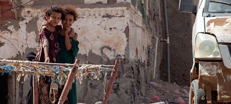 المخا، مدينة تقع في غرب اليمن، لم تسلم من الحرب المستمرة منذ أعوام.