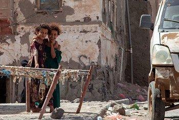 也门西部港口城市穆哈(Mokha)在该国持续多年的武装冲突中遭受严重破坏。
