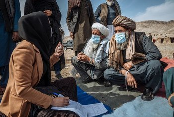 The UN has been supporting displaced families in Afghanistan, providing emergency shelter and protection.