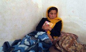 喀布尔的一所学校遭到袭击,一名阿富汗女孩受伤。