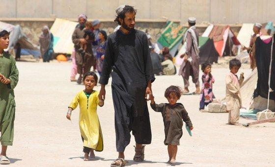 Перемещенные лица в Кандагаре