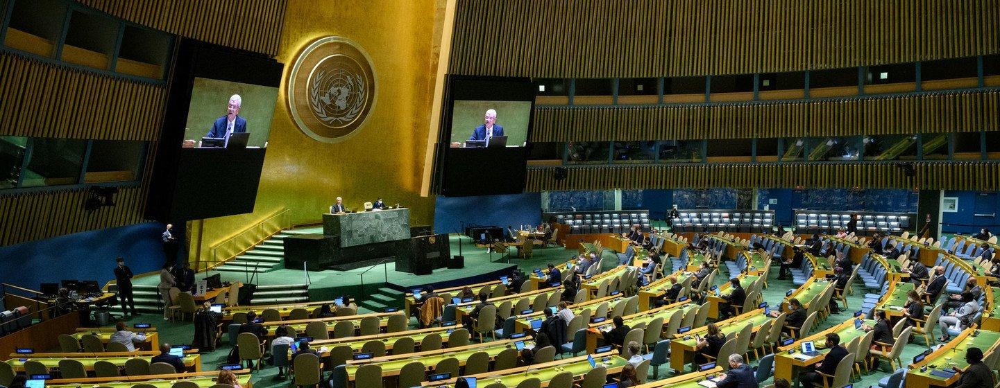 Ежегодные общие прения на 76-й сессии Генеральной Ассамблеи ООН начнутся 21 сентября и продлятся до 27 сентября.