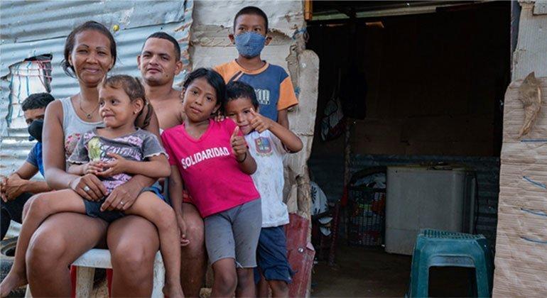 जो परिवार वेनेज़ुएला से भाग गए थे, अब कोविड-19 के कारण वापस लौट रहे हैं.