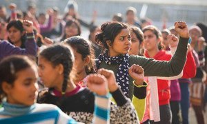 Violence against women and girls has increased 83 per cent from 2019 to 2020, and cases reported to the police have grown by 64 per cent, according to the United Nations.