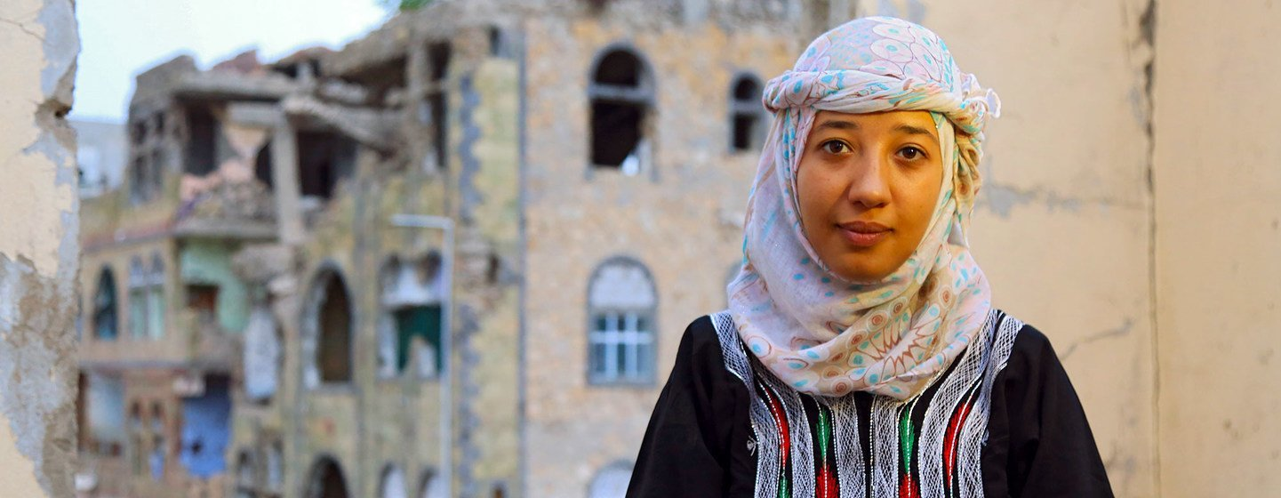 Ola al-Aghbary is the founder  of the Sheba Youth Foundation for Development which  focuses on youth and women empowerment in Yemen.