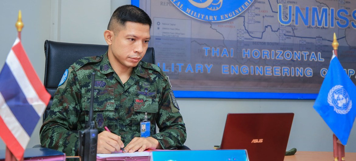 Lt. Col. Kaisin Sasunee is the existent   Commander of the Thai Horizontal Military Engineering Company (HMEC), Horizontal Military Engineering Company (HMEC), which works   with UNMISS repair and rehabilitate South Sudan's existing infrastructure. Thai engineers person  made an invaluable publication  to the mission's mandate.